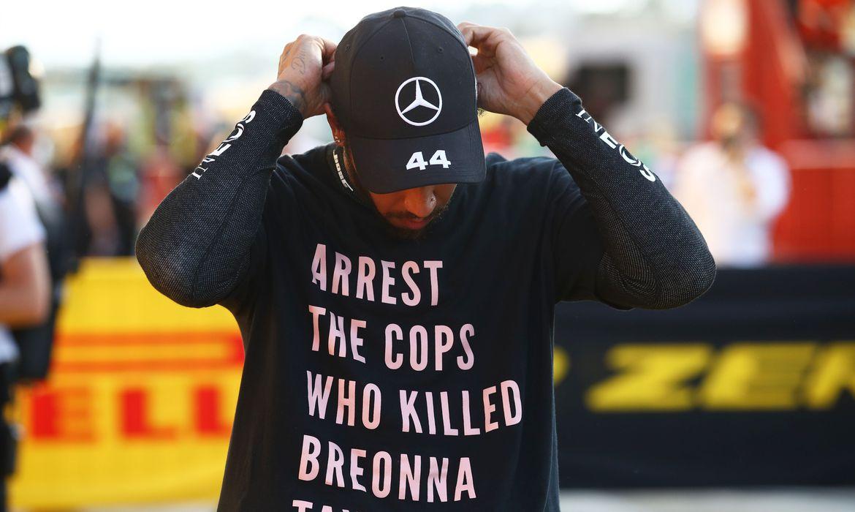 Lewis Hamilton, Breonna Taylor