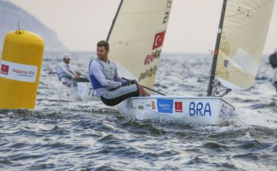 Jorge Zarif - velejador - Portugal - Europeu de Finn