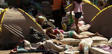 Desabamento de uma ocupação no centro de São Paulo