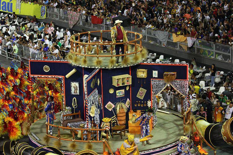 São Paulo – Dragões da Real no segundo dia de desfile das escolas de samba paulistanas do Grupo Especial (Divulgação/LigaSP)