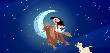 Luna, Júpiter e Claudio ficam curiosos em relação ao sono dos cavalos