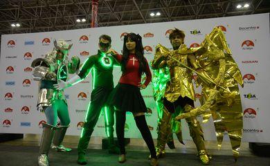 Rio de Janeiro - Apresentação de cosplayers no Japan Festival Rio Matsuri, evento que mostra diversas faces da moderna cultura japonesa, no Riocentro, na Barra da Tijuca (Tomaz Silva/Agência Brasil)