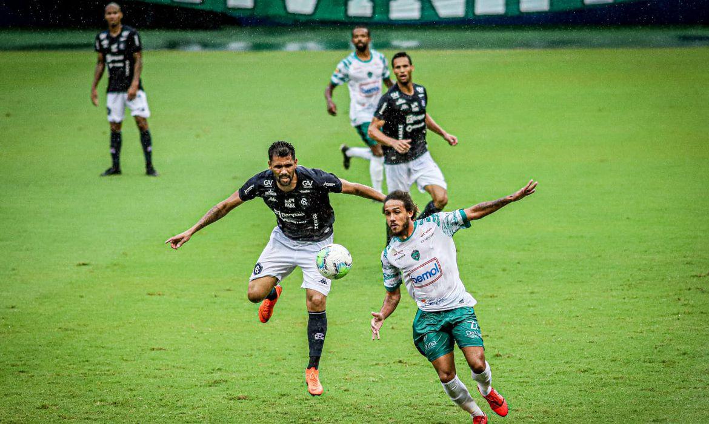 Remo arranca empate com Manaus, fora de casa, em primeiro jogo das oitavas de final da Copa Verde  - 1 a 1 - em 13/02/2021