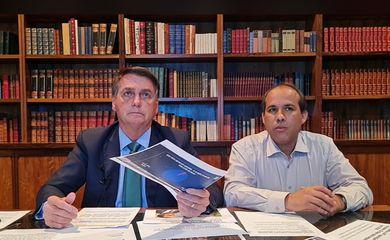 Pronunciamento do Presidente - 05/08/2021 - PR Jair Bolsonaro.