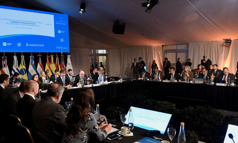 Mercosul, Reunião, Argentina.  Argentine Foreign Ministry/Handout via REUTERS