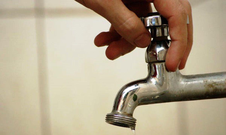 água desperdício