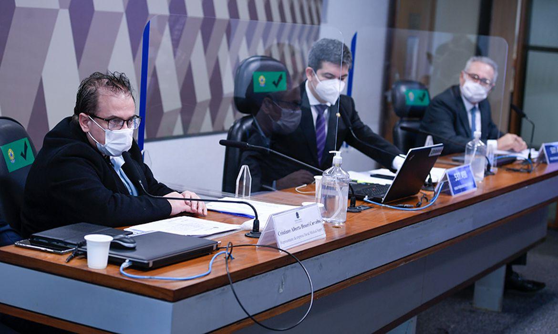 Comissão Parlamentar de Inquérito da Pandemia (CPIPANDEMIA) realiza oitiva do procurador da empresa Davati Medical Supply no Brasil. O objetivo é tratar de investigações sobre suposto caso de propinas envolvendo compra de vacinas AstraZeneca.
