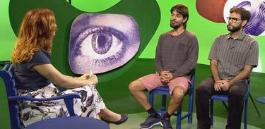 "Tâmara Freire entrevista Rafael Bacelar eVictor Paschoal, diretores de ""Alambrados do Subúrbio"""