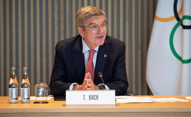 Thomas Bach, presidente do COI