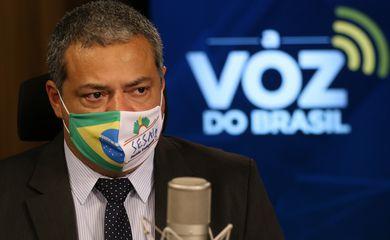 Robson Santos da Silva, Secretário Especial de Saúde Indígena do Ministério da Saúde, participa do programa A Voz do Brasil