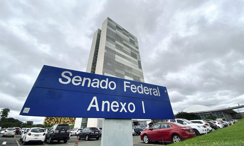 Imagens de Brasília - Palácio do Congresso Nacional - Anexo I do Senado Federal.   Foto: Leonardo Sá/Agência Senado