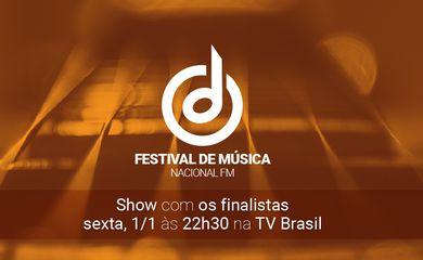 banner destaque do Festival de Música Nacional FM