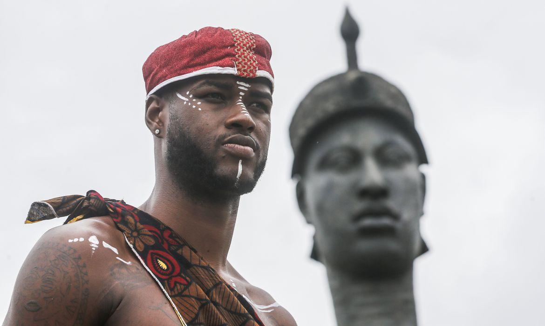 Dia da Consciência Negra é comemorado no Rio com homenagem a Zumbi