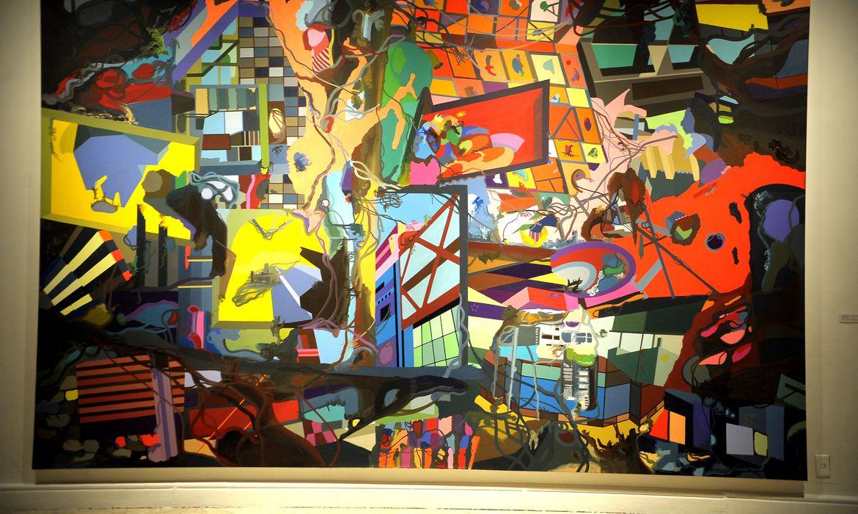 Rio de Janeiro - A exposição Zeitgeist: a arte da nova Berlim aberta ao público no Centro Cultural Banco do Brasil (CCBB), no centro do Rio, reúne o trabalho de 29 artistas contemporâneos (Tomaz Silva/Agência Brasil)