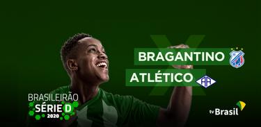TV Brasil exibe a partida Bragantino (PA) x Atlético (AC) pela Série D