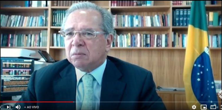 Ministro Paulo Guedes participa do ENAEX - 39º Encontro Nacional do Comércio Exterior