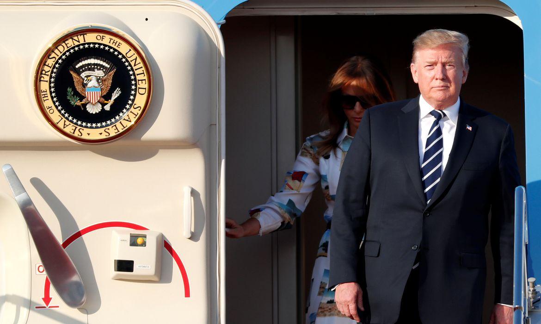 Donald Trump, Japão