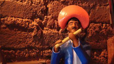 Mestre Vitalino, consagrado ceramista popular, é um dos maiores artistas do Nordeste