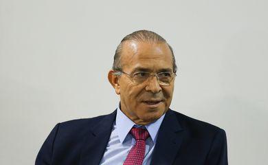 Brasília - Ministro da Casa Civil, Eliseu Padilha, durante reunião com líderes da Câmara dos Deputados sobre a reforma da Previdência, no Palácio do Planalto (Valter Campanato/Agência Brasil)
