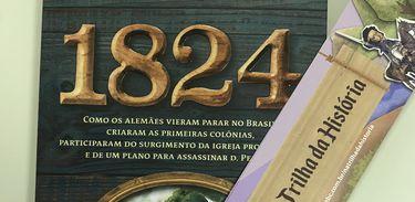 """Livro """"1824"""", de Rodrigo Trespach"""