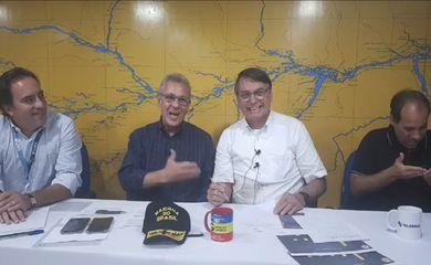 Live da semana Presidente Jair Bolsonaro, 08/10/2020