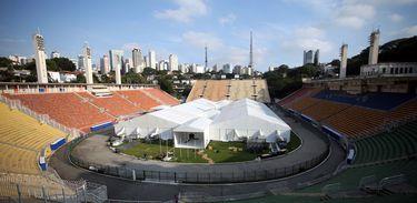 Estádio do Pacaembu vai receber hospital de campanha