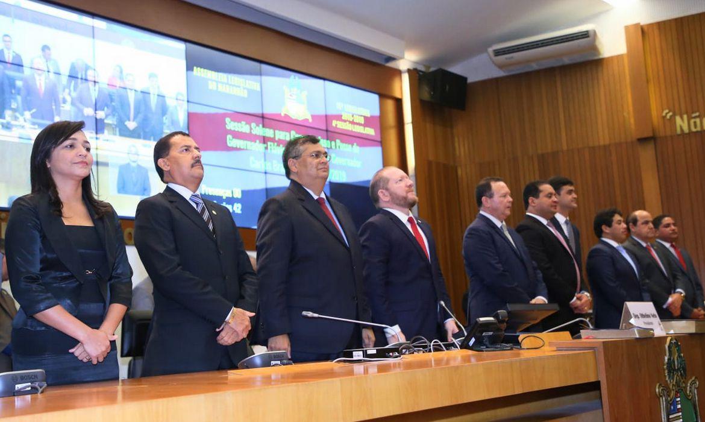 Posse do governador Flávio Dino na Assembleia Legislativa