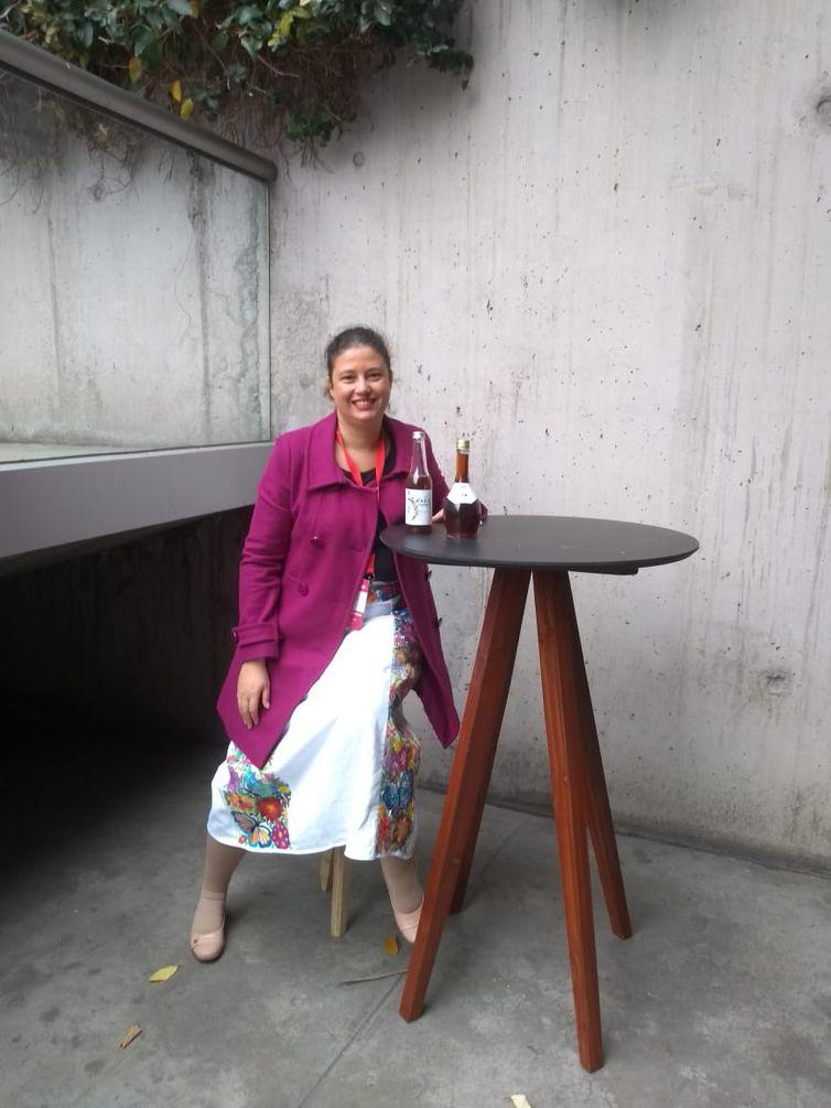 A bióloga Fernanda Matias, dona da startup de biotecnologia Meltech