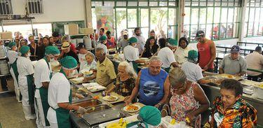 Restaurante comunitário em Brasília