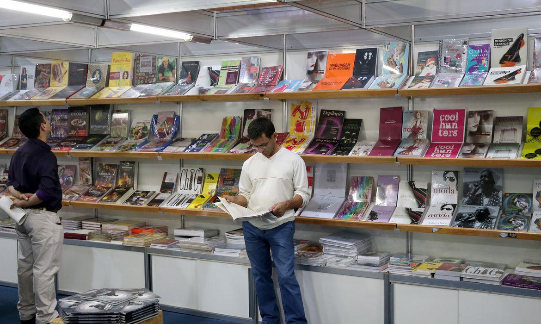 Brasília - 33ª Feira do Livro de Brasília. Na programação tem debates, recitais, palestras, apresentações culturais e lançamentos de livros (Wilson Dias/Agência Brasil)