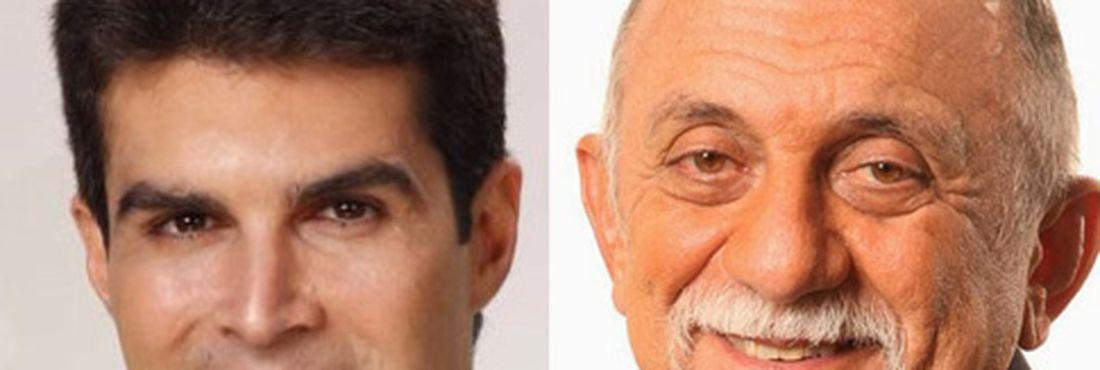 Hélder Barbalho (PMDB) e Simão Jatene (PSDB)