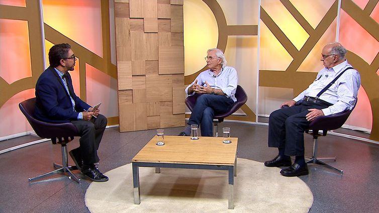 Maranhão Viegas conversa com Guilherme Estrella e Luiz Fernando Scheibe no Diálogo Brasil