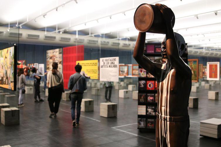 Visitação do público no acervo permanente do Museu de Arte de São Paulo - Masp
