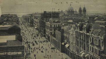 Avenida Central, símbolo da civilização e do progresso no início do século passado.