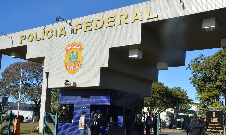 Faixada Policia Federal
