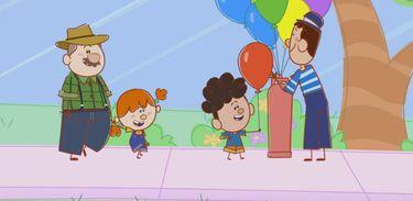 O Diário de Mika - Brincando Com Balões