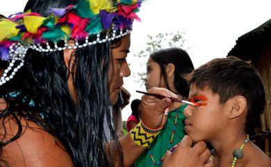 Tribos indígenas de todo o Brasil começaram a chegar hoje (21) a Maricá, município da região metropolitana do Rio de Janeiro, para participar da Jornada Esportiva e Cultural Indígena