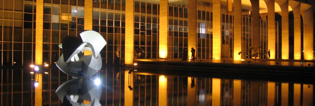 Palácio do Itamaraty, em Brasília (DF)