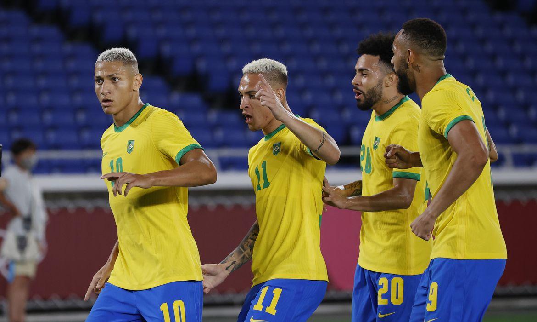 Brasil contra a Alemanha em Tóquio 2020