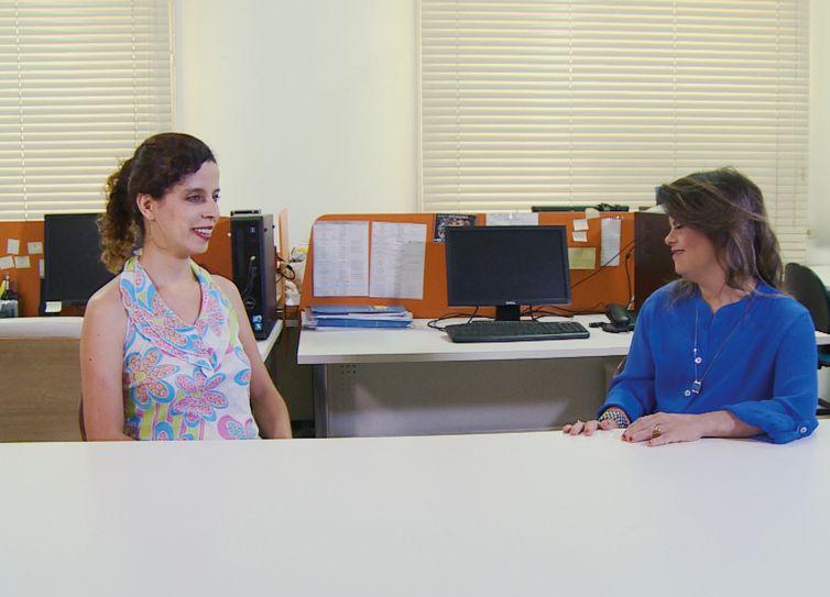 Fernanda Honorato e Sara Bentes