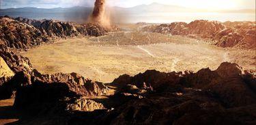 Deus guia jornada do povo hebreu através do deserto