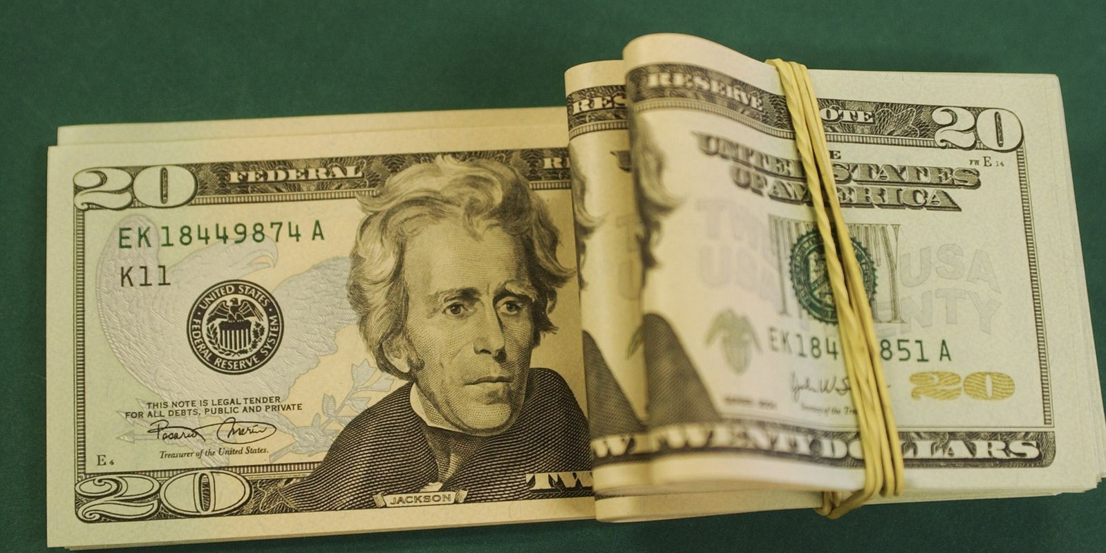 Dólares - Moeda estrangeira