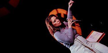 Maria Rita, cantora durante apresentação