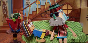 Matilde é uma garota de 12 anos que vai passar as férias na casa do avô, um pirata de 120 anos