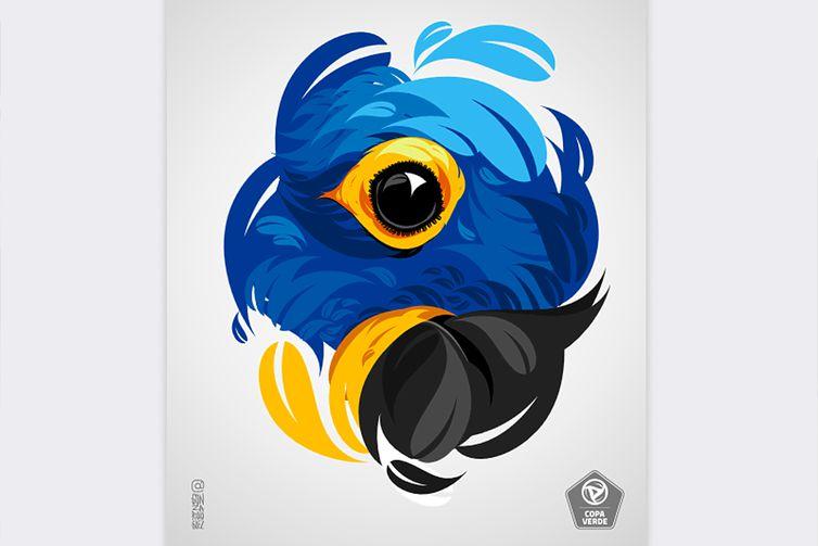 Finalistas da Copa Verde homenageiam onça-pintada e arara-azul<p></p>Patchs a serem usados por Remo e Brasiliense farão alusão às espécies