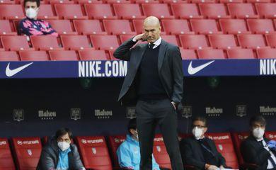 La Liga Santander - Atletico Madrid v Real Madrid - Zidane -técnico