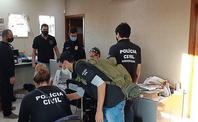 Laboratório de Operações Cibernéticas do Ministério da Justiça e Segurança Pública auxilia operação contra ataques virtuais Operação Attack Mestre, coordenada pelas polícias civis de Goiás e Tocantins, cumpre sete mandados de busca, apreensã