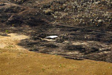 incêndio no parque nacional da chapada dos veadeiros