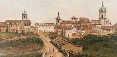 Entrada Leste de São Paulo em 1821