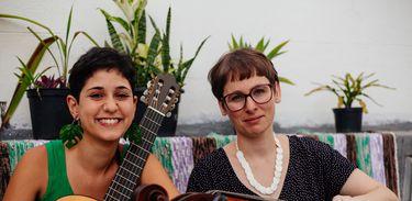 Luisa Lacerda e Maria Clara Valle